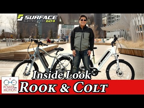Surface 604 Rook and Colt: An Inside Look | electric Bike Calgary, Alberta, Canada | ebike Calgary