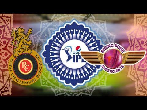 (GAMING SERIES) VIVO IPL 9 GROUP 2 MATCH 2 - ROYAL CHALLENGERS BANGALORE v RISING PUNE SUPERGIANTS