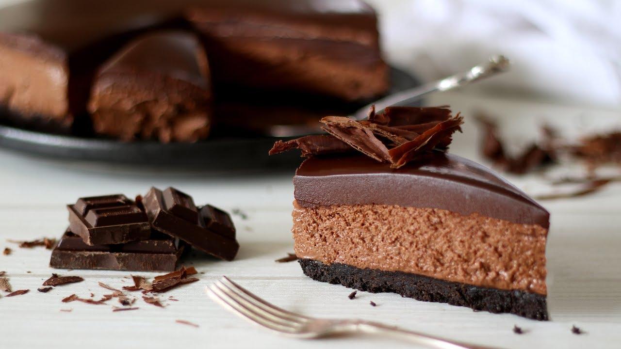 Easy chocolate cheesecake no bake recipe