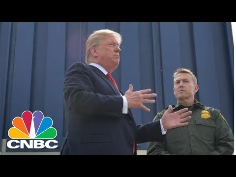 President Donald Trump Reviews Border Wall Prototypes | CNBC