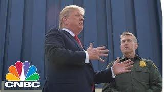 President Donald Trump Reviews Border Wall Prototypes | CNBC