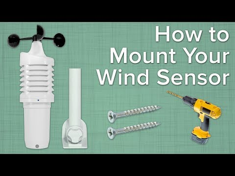 How To Mount Your Wind Sensor