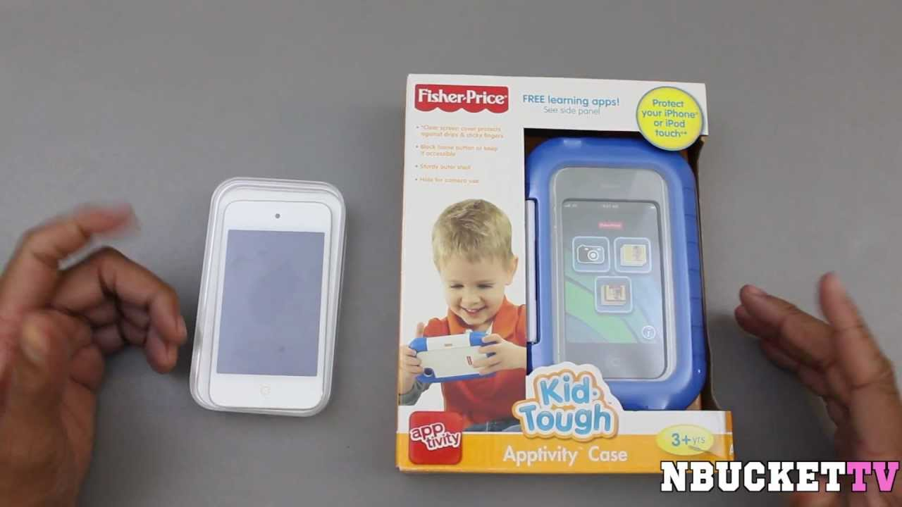 on sale b6b9a 5e0c1 Fisher-Price Kid-Tough Apptivity Case Review (Child Proof Your iPhone and  iPod Touch)