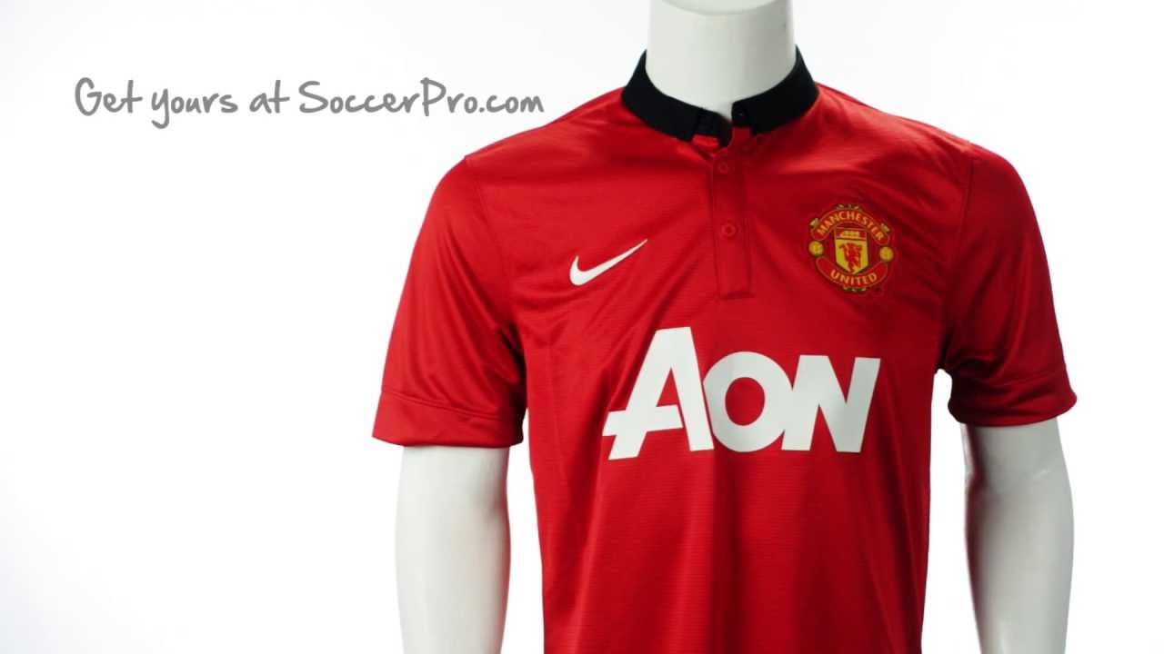 best value e89a2 79776 Nike 2013-2014 Manchester United Home Jersey