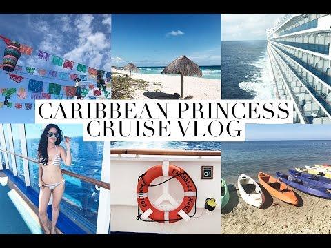 TRAVEL VLOG: CARIBBEAN PRINCESS | Glam Latte