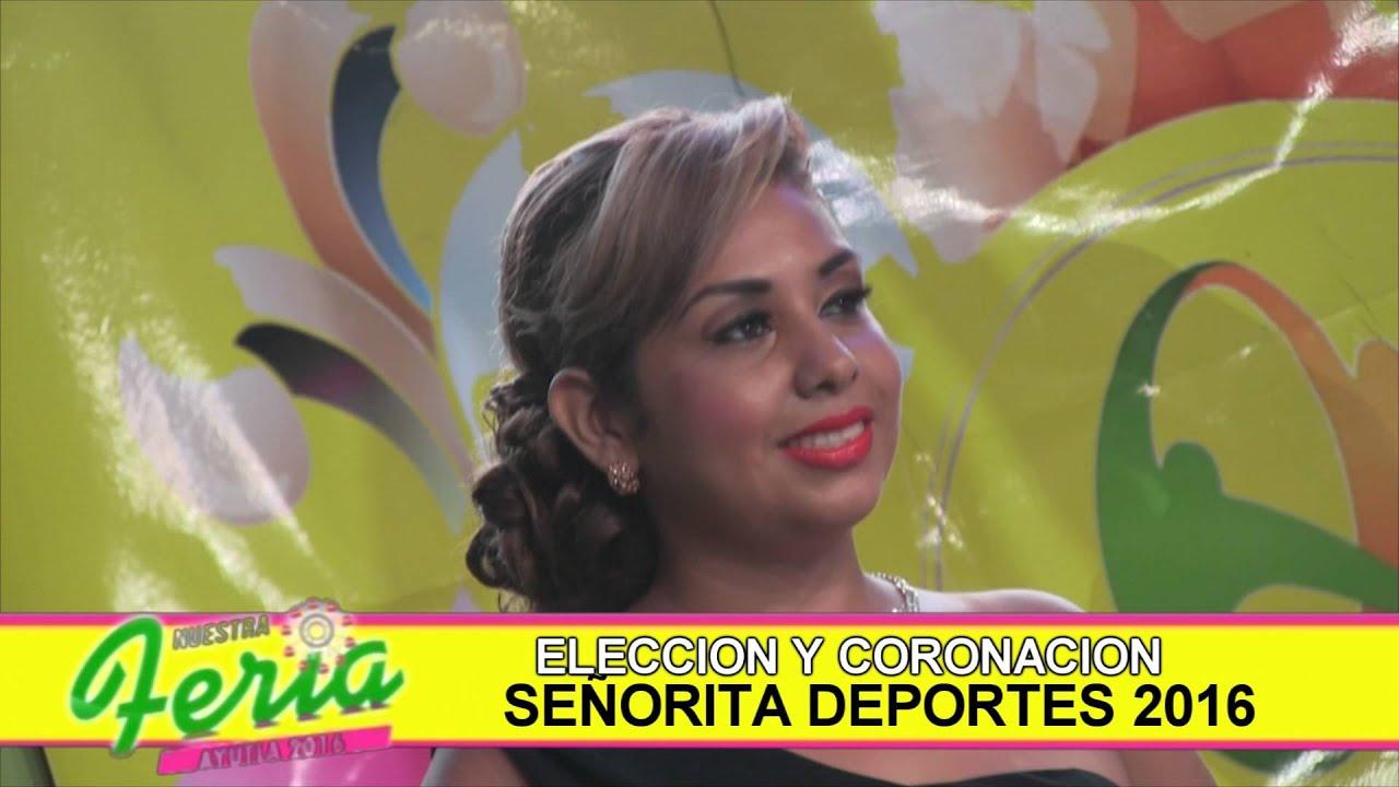 afa599710 ELECCION SEÑORITA DEPORTES - YouTube