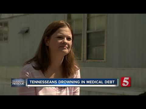 Tennesseans drowning in medical debt