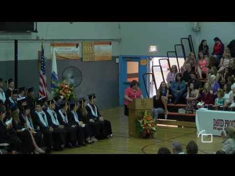 David Prouty High School Graduation - June 3, 2016