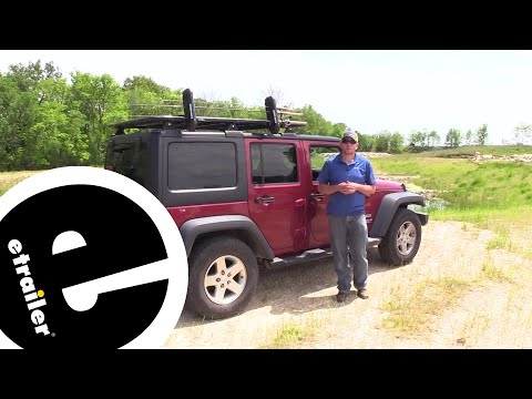 Etrailer | Rhino-Rack Pioneer Platform Rack Ski And Fishing Rod Carrier Review