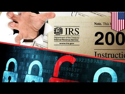 Identity theft at IRS: Hackers steal 100,000 taxpayers data in cyberattack - TomoNews