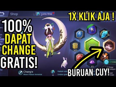 1x KLIK AJA DAPAT CHANGE GRATIS DI LUCKY SPIN !!!