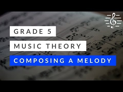 Music Theory - Composing a Melody (in a Major Key)