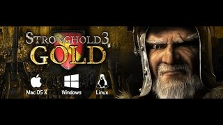 Stronghold 3 Gold Edition 2014 شرح تحميل وتثبيت لعبة الاستراتيجية