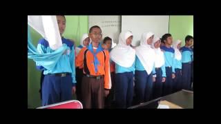Pelantikan Pengurus Baru PMR Unit MTsN Kota Blitar Masa Bakti 2014/2015
