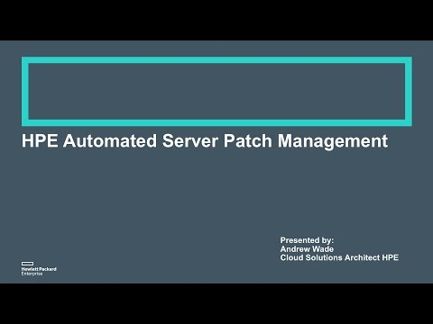 May 17 Webinar - Automated Server Patch Management with OO