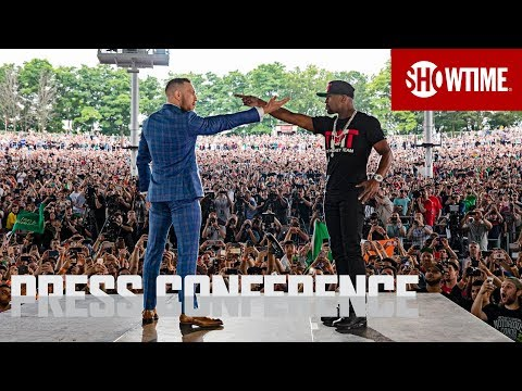 Thumbnail: Mayweather vs. McGregor: Toronto Press Conference | Sat., Aug. 26 on SHOWTIME PPV