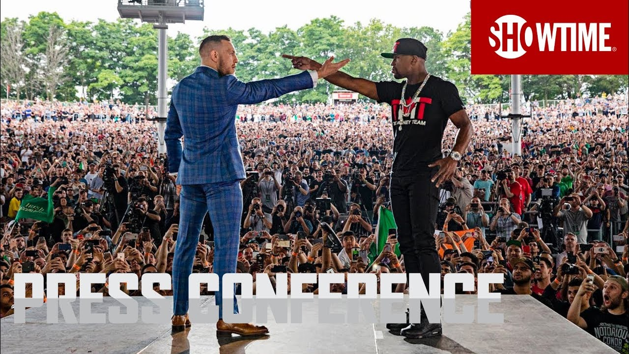 Floyd Mayweather Quotes Wallpaper Mayweather Vs Mcgregor Toronto Press Conference