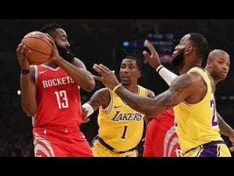 Los Angeles Lakers vs Houston Rockets_NBA Highlights_(February 21st 2019)