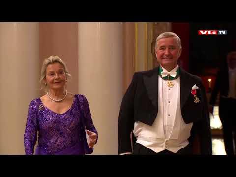 Kongeparet 80 år | Gala dinner