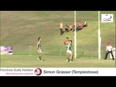 EFL TV Mark Of The Year 2013 - Simon Grasser (Templestowe)