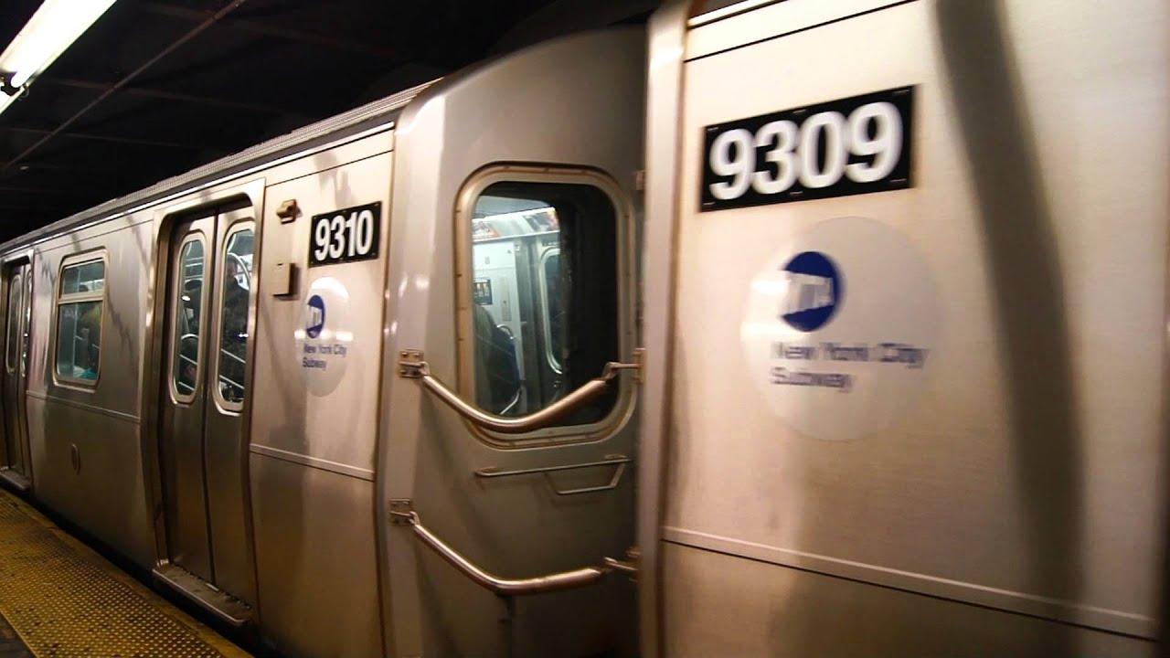 Mta New York City Subway's Coney Island Bound F Train ...