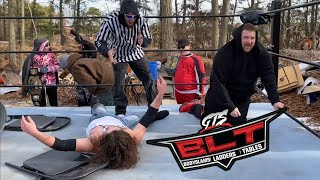 NO HOLDS BARRED TABLE MATCH! KID RISKS IT ALL TO TAKE GRIM DOWN