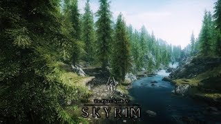 Выживание в TES 5: Skyrim. Первое прохождение с модами. Изучаем мир. #1