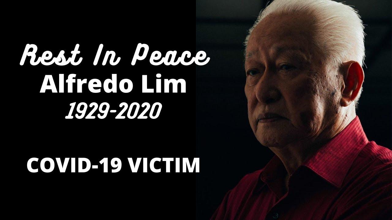 Full Details sa Pagpanaw ng dating Mayor ng Manila na si Alfredo Lim dahil sa COVID-19