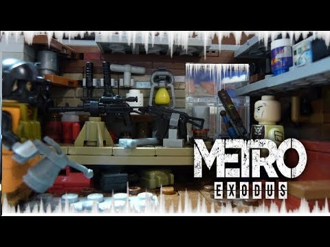 METRO EXODUS | Мастерская на Авроре . Обзор на самоделку Lego.