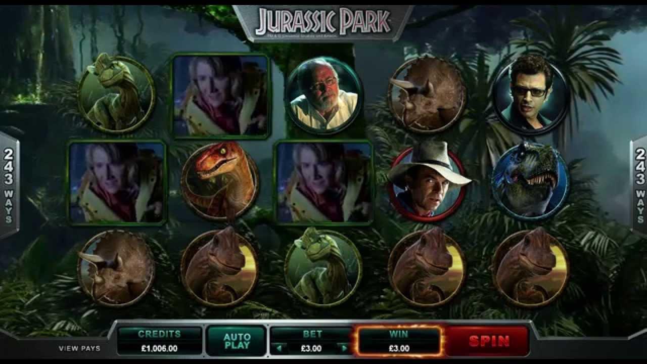 Jurassic Park Slot kostenlos spielen