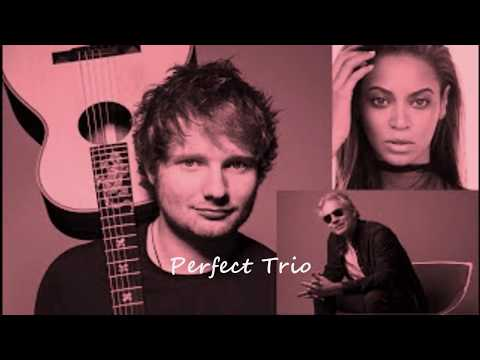 Ed Sheeran with Beyoncé & Andre Bocelli...Perfect Trio...(Audio Remix)