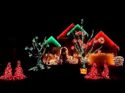 2013 Christmas Light Show - Christmas Vacation