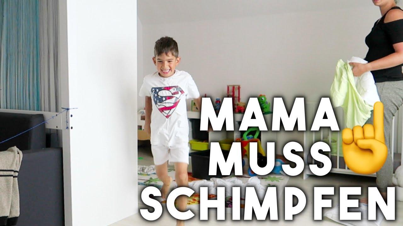 Mama Muss Schimpfen Kinder Ins Bett Bringen Vlog