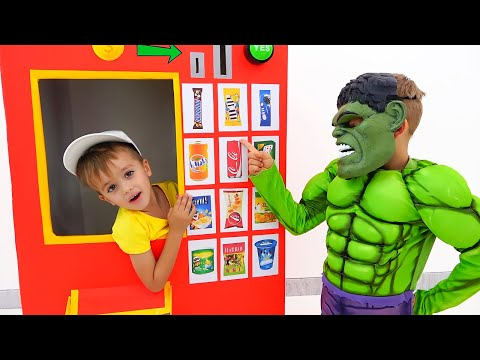 Vlad and Niki dress up costumes and play - kids toys stories