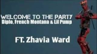 1Hour Diplo French Montana & Lil Pump ft  Zhavia   Welcome To The Party Deadpool