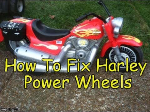 How To Repair / Fix Harley Davidson Motorcycle Power Wheels ... Harley Davidson Power Wheels Wiring Diagram on ktm 450 wiring diagram, harley wiring diagram for dummies, ktm exc wiring diagram, nissan wiring diagram, honda motorcycle wire diagram, 2001 sportster ignition system diagram, harley speedometer wiring, harley wiring diagrams online, husaberg wiring diagram, harley bar and shield dxf, 2000 harley wiring diagram, simple harley wiring diagram, harley touring wiring diagram, tomos wiring diagram, harley sportster wiring diagram, 2003 harley wiring diagram, harley softail wiring diagram, rupp snowmobile wiring diagram, marine boat wiring diagram, cf moto wiring diagram,