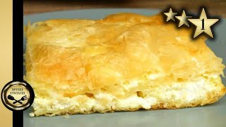Easy cheese pie with Yogurt and Feta (ready in a couple of minutes) - GOLDEN RECIPES