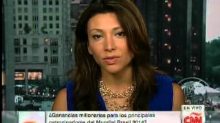 Latino Influence on Soccer and FIFA World Cup | w/ Lili Gil on CNN