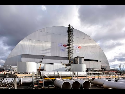 Unique engineering feat concluded as Chernobyl arch has reached resting place