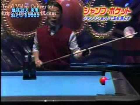 Лучшие бильярдные ТРЮКИ 2003 года! ( The best billiard tricks).mpg