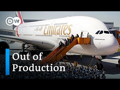Airbus puts super jumbo A380 out of production | DW News
