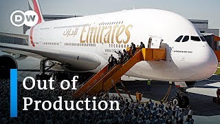 Airbus puts super jumbo A380 out of production  DW News