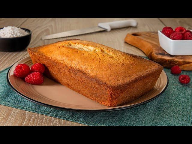 Pound Cake con leche condensada Goya