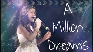 Angelica Hale Performs A Million Dreams (A Greatest Showman Special)