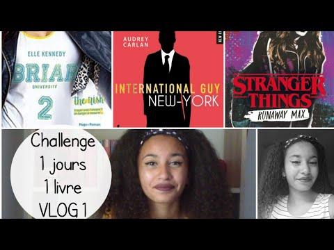 Vlog 1 Challenge 1 Jours 1 Livre