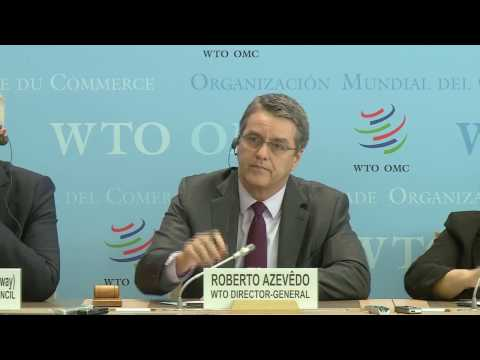 WTO Press Conference: TFA enters into force