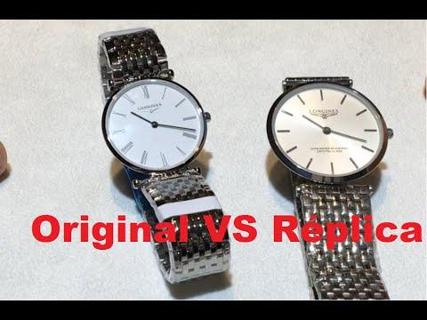 68092a7ef3d2 Reloj Longines Réplica VS Original - Cómo distinguirlos - Cuidado  Falsificaciones - YouTube