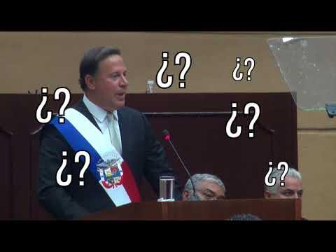 Así se vive realmente el discurso de Juan Carlos Varela.