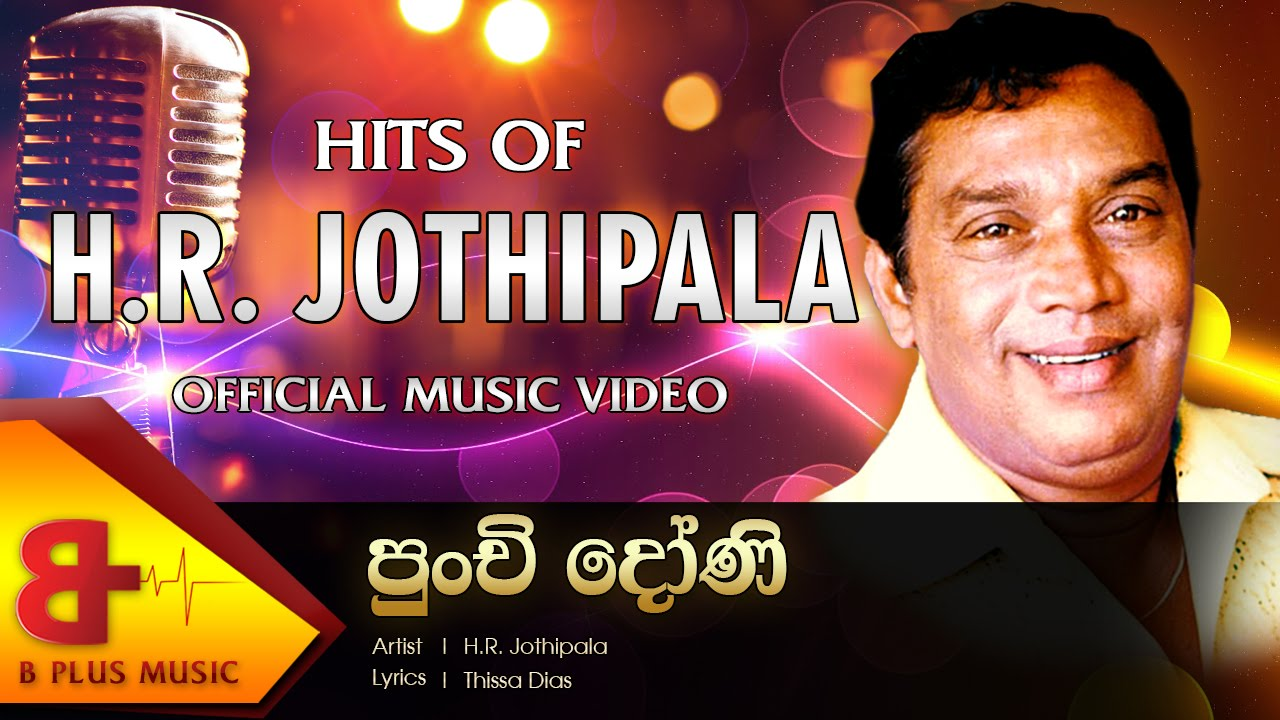 Punchi Doni Tharaha Wela Official Music Video H R Jothipala