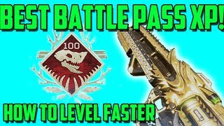 Apex Legends - How to Level Up the Battle Pass Faster | Top Battle Pass Tips and Info